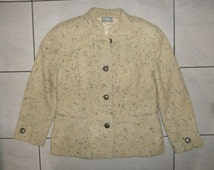 gianni versace jacket coat vintage yellowish  100% authentic M