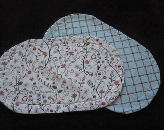 Pair of Bright Happy Fabric Placemats