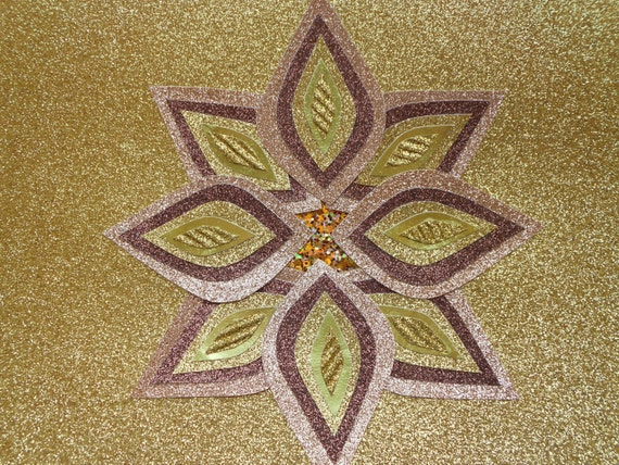 Gold Star Wall Decor: Gold Star Abstract Art Wall Art Wall Decor Gold By Feederart