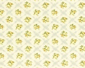 SALE Rococo and Sweet Lecien  Fabric 2014 Yellow Floral Roses 31055L-90 BTHY