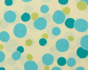 Soap bubbles, blue - Fat Quarter