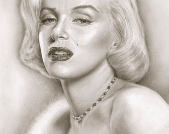 Marilyn Monroe - A3 Size Poster Print