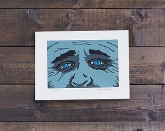 Window - Woodcut