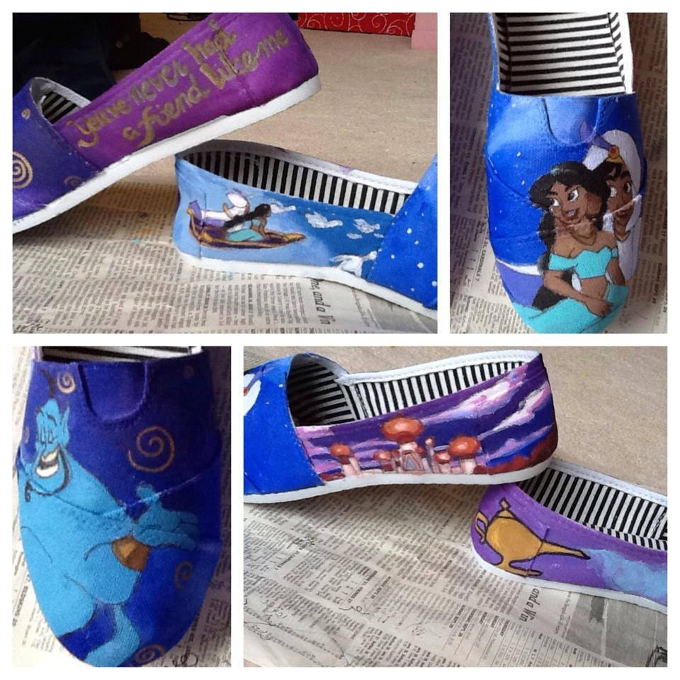 custom painted canvas shoes design only by happyfeetpainting