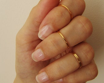 Knuckle Rings Gold