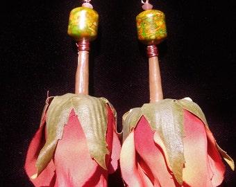Sunset RoRose Earrings