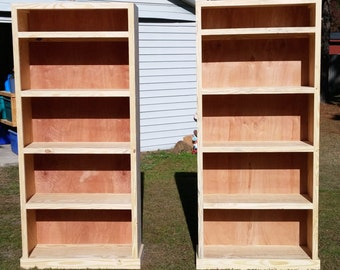 Hand made shelving / bookcase.