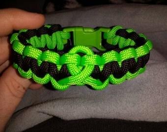Mental health awareness bracelet