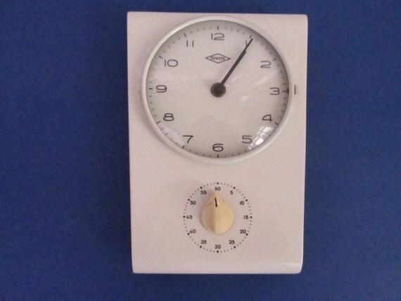 vintage uhr k chenuhr 60er keramik vintage clock kitchen