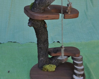 Fairy and Gnome Tree House