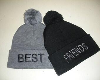 Best Friends Knit Hats (Pair)