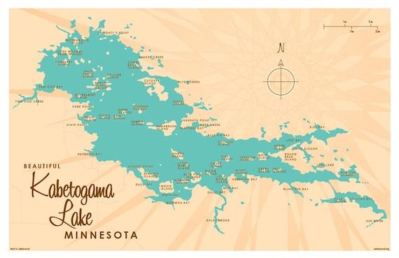 Drawing & Illustration Fiber Arts Glass Art Mixed Media & Collage ...: https://www.etsy.com/listing/225516035/kabetogama-lake-mn-map-print