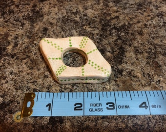 Ceramic Thumb Ring Book Page Holder Reading