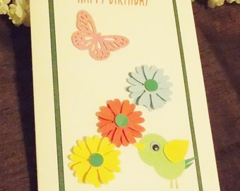 Handmade Birthday card with envelope