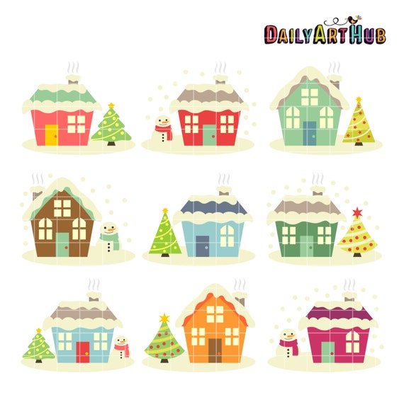 house winter clipart - photo #50