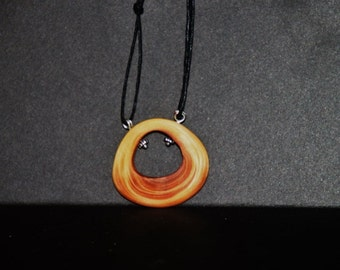 Hand carved charm necklace