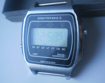 Watches Electronicа-5 USSR