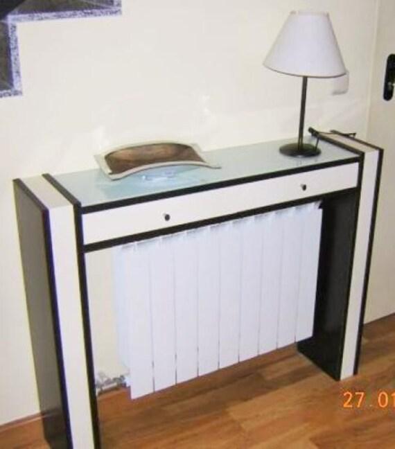 Items similar to console cubreradiador furniture - Cubreradiadores de cristal ...