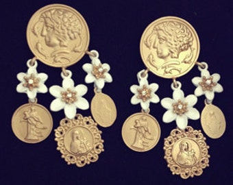 Baroque Style Earring, THE BEST