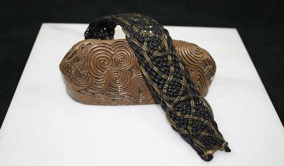 Handmade Celtic leatherwork