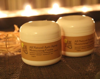 All natural anti-aging daily facial moisturizer