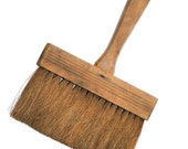 Large Rustic Wooden Paint Brush / Oversized Wooden Brush / Industrial Style Paint Brush