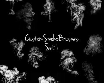 Photoshop Smoke Brush Set