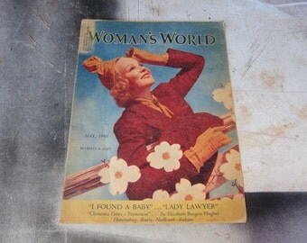 Woman's World Magazine May 1940 Lucky Strike Ad