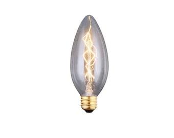Edison bulb Candelabra base 40 watts