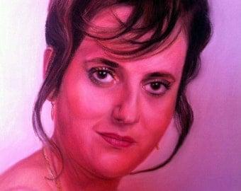 commissioned portraits Pastel