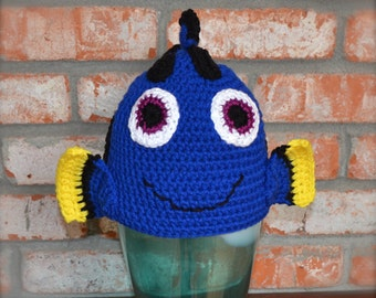Popular items for finding nemo hat on Etsy
