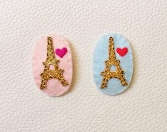 Twinkle Eiffel Tower Hair Pin / Hair Clip