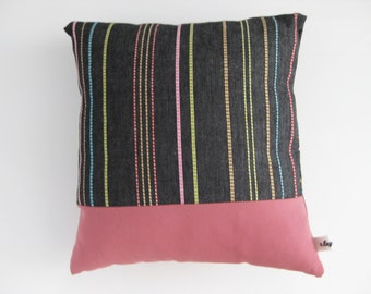 lagalux LIVED. Pillow. Elaborate steps handmade pieces. Chic Snuggler for at home.