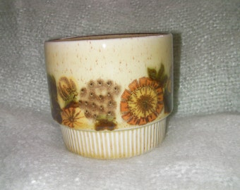 Vintage Poole Pottery, 'Thistlewood' Sugar Bowl, Collectable. Made in England