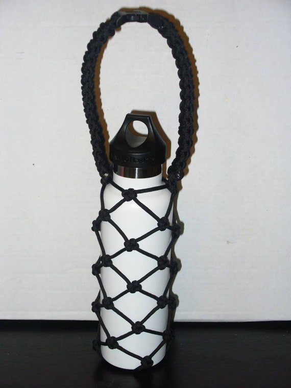 Handmade 550 paracord hydro flask holder for by liveponoparacord