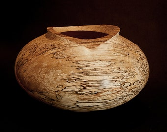 Large Spalted Beech Bowl