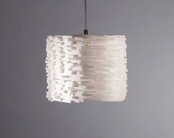 Hanging lamp Luccia S white