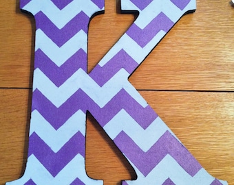 13 inch painted bulletin board letter
