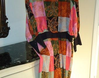 Nieman Marcus, Soo Yung Lee Designer, Silk  Dress Size 10, Vintage