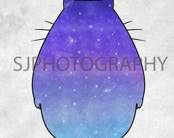 Original Totoro Print