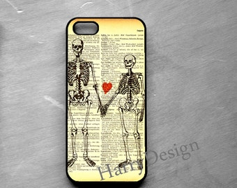 Skeleton Couple iPhone case, iPhone 4 / 4s / 5 / 5s /5c, iPhone 6 / 6 Plus case, Samsung Galaxy S3 / S4 / S5 case, Note 2, Note 3 case