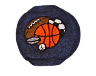 Child All Sports Ball Eyeglass Eye Patch