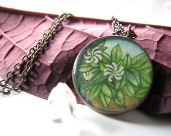 Tahitian Gardenia; Necklace