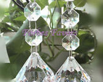 6 Hanging Crystal Garland with Diamond