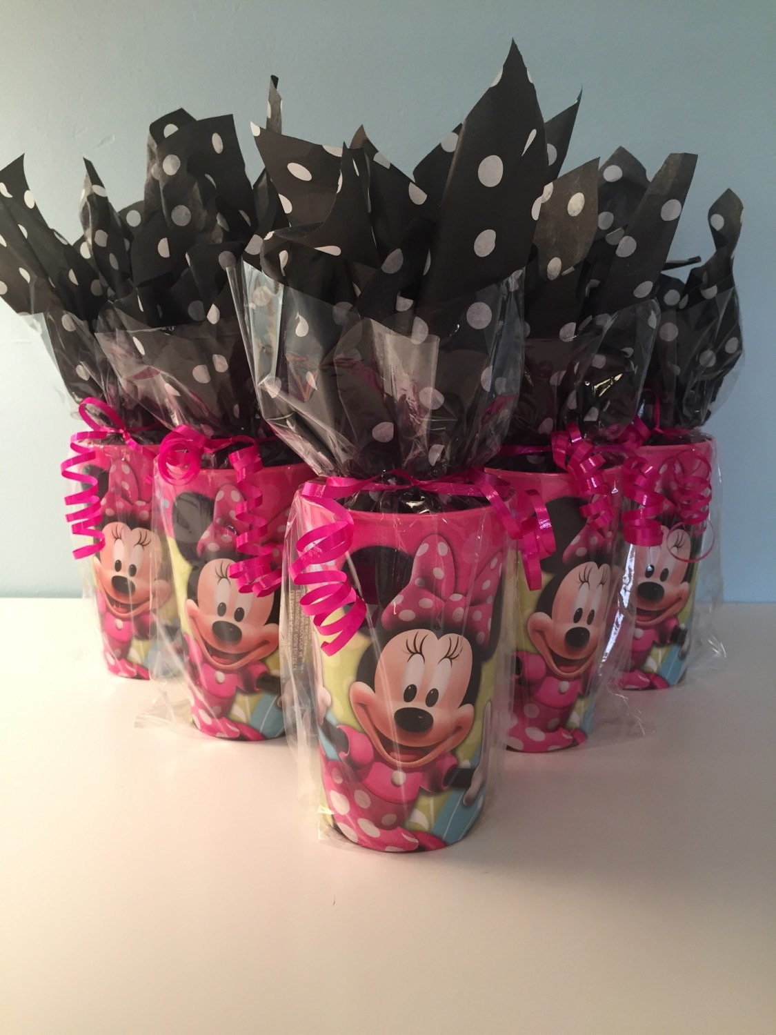 for arianna minnie mickey mouse party favor cups total of. Black Bedroom Furniture Sets. Home Design Ideas