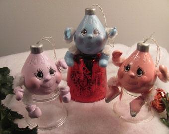 Ceramic Tree Ornaments
