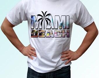 Miami beach etsy for T shirt printing miami fl