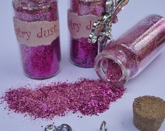 Jars of fairy dust with charm