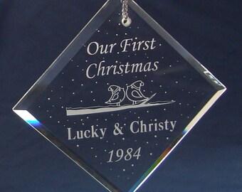 Our First Christmas, Love Birds, Diamond