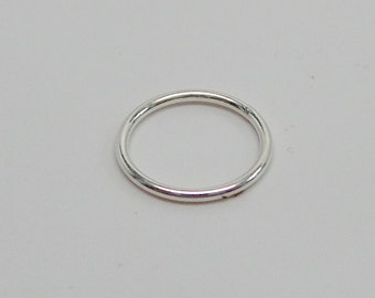 925 solid Sterling silver jump rings closed. 9 mm. PRICE FOR 12 jump rings. handmade. Wholesale. JR44